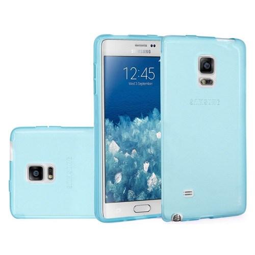 Teleplus Samsung Galaxy Note Edge Silikon Kılıf Mavi