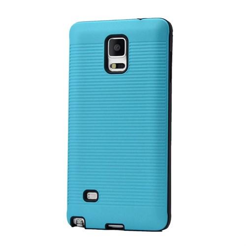 Teleplus Galaxy Note 3 Yüksek Kaliteli Silikon Yumuşak Kılıf Mavi
