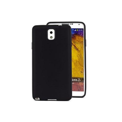 Teleplus Samsung Galaxy Note 3 Siyah Silikon Kılıf