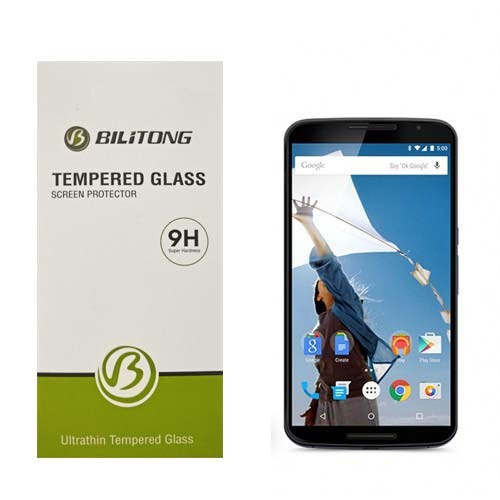 Bilitong Motorola Nexus 6 Ekran Koruyucu Temperli Cam