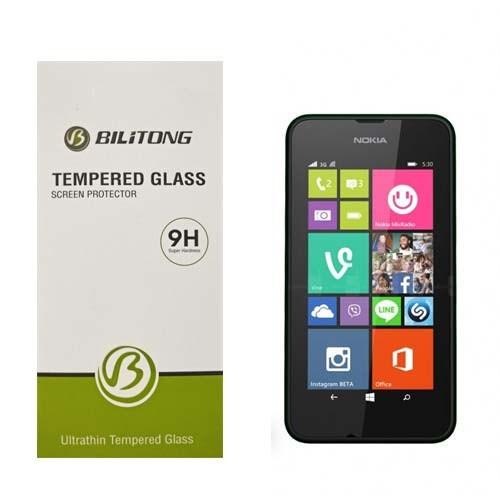 Bilitong Nokia Lumia 530 Ekran Koruyucu Temperli Cam