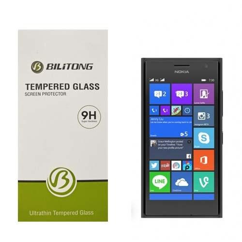 Bilitong Nokia Lumia 735 Ekran Koruyucu Temperli Cam