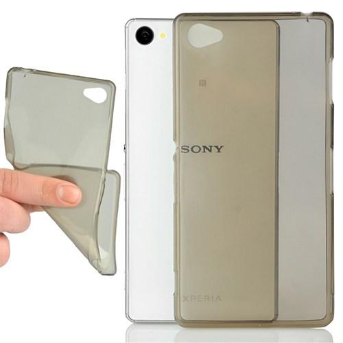 Cover Me Sony Xperia Z3 Compact Kılıf Silikon 0.3Mm Antrasit