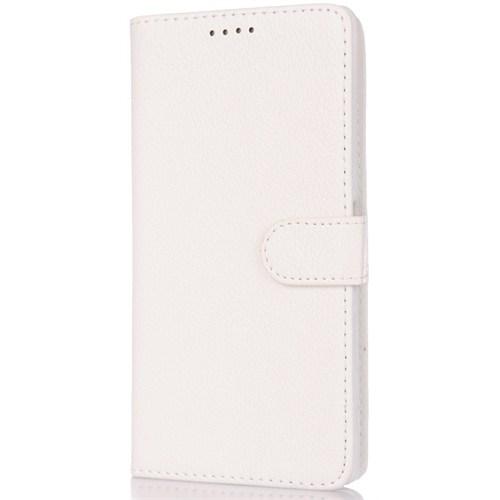 Cover Me Sony Xperia Z3 Compact Kapaklı Cüzdan Kart Gözlü Beyaz