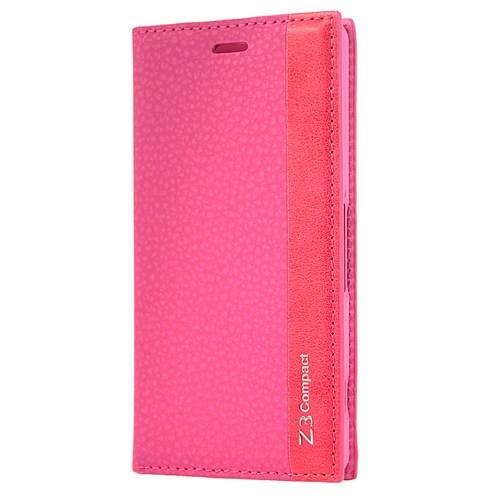 Cover Me Sony Xperia Z3 Compact Kılıf Kapaklı Magnum Pembe