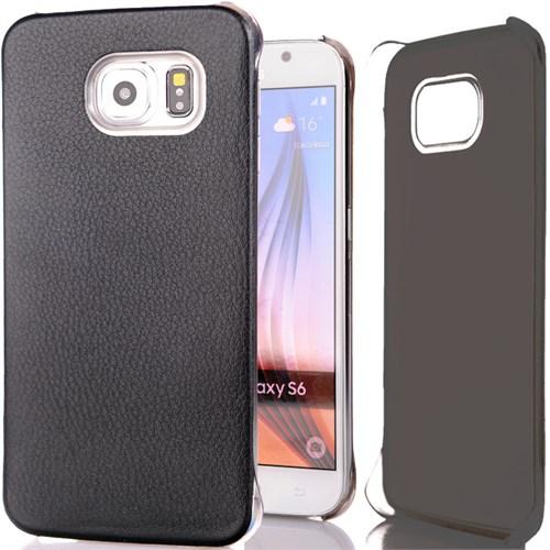 Cover Me Samsung Galaxy S6 Kılıf Flip Wallet Siyah