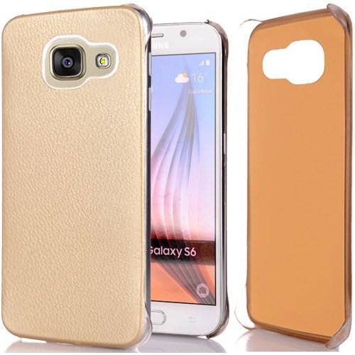 Cover Me Samsung Galaxy A5 2016 Kılıf A510 Flip Wallet Altın