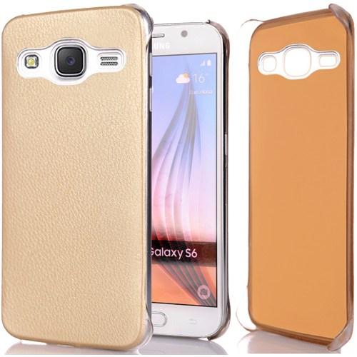 Cover Me Samsung Galaxy J5 Kılıf Flip Wallet Altın