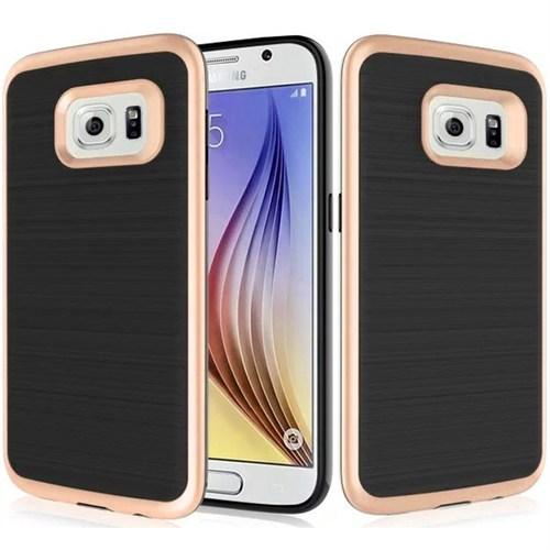 Cover Me Samsung Galaxy S7 Kılıf Antişok Sert Motomo Altın