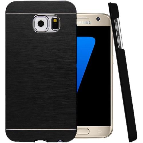 CoverZone Samsung Galaxy A5 Kılıf 2016 A510 Motomo Sert Siyah