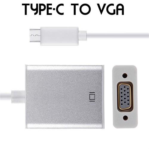 CoverZone Type-C To Vga Bağlantı Adaptörü