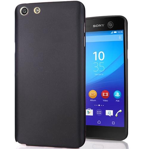 Cover Me Sony Xperia M5 Kılıf Slim Fit Dizayn Silikon Siyah