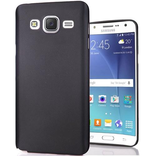 Cover Me Samsung Galaxy J5 Kılıf Slim Fit Dizayn Silikon Siyah