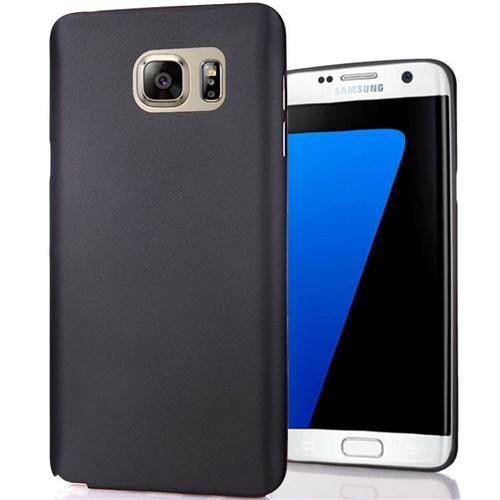 Cover Me Samsung Galaxy S7 Edge Slim Fit Dizayn Silikon Siyah