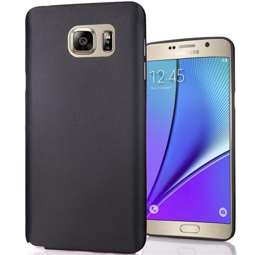 Cover Me Samsung Galaxy Note 5 Slim Fit Dizayn Silikon Siyah