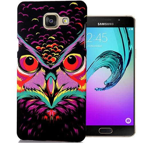 Cover Me Samsung Galaxy A7 2016 Kılıf A710 Resimli Kapak Baykuş