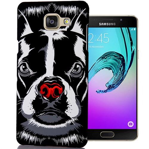 Cover Me Samsung Galaxy A7 2016 Kılıf A710 Resimli Kapak Pitbull Köpek