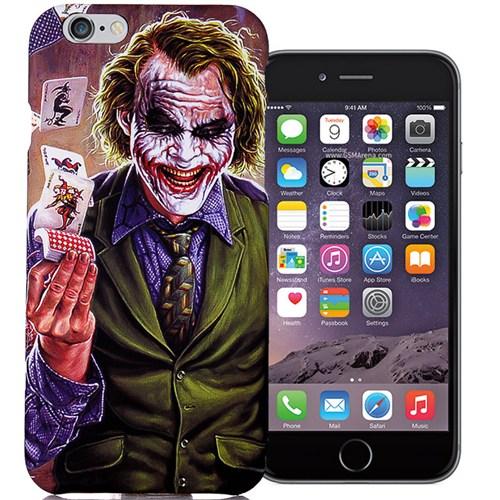 CoverZone İphone 6 Plus 6S Plus Kılıf Resimli Kapak Joker