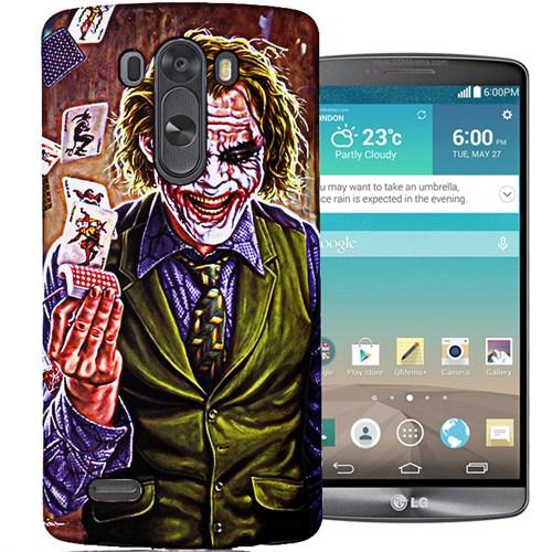 CoverZone Lg G3 Kılıf Resimli Kapak Joker