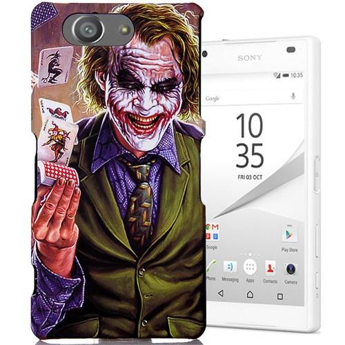 CoverZone Sony Xperia Z3 Mini Kılıf Resimli Kapak Joker