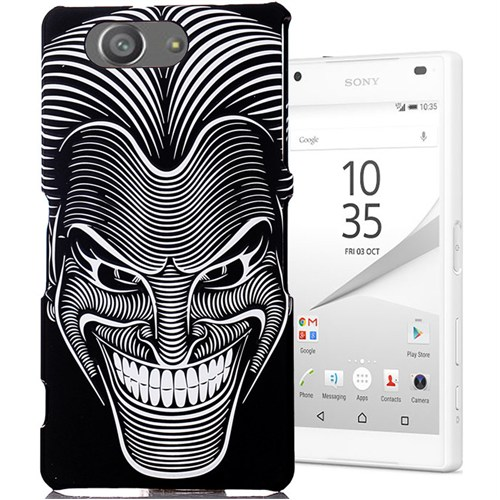 CoverZone Sony Xperia Z3 Mini Kılıf Resimli Kapak Maske