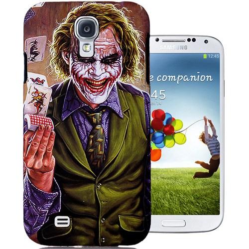 CoverZone Samsung Galaxy S4 Kılıf Resimli Kapak Joker