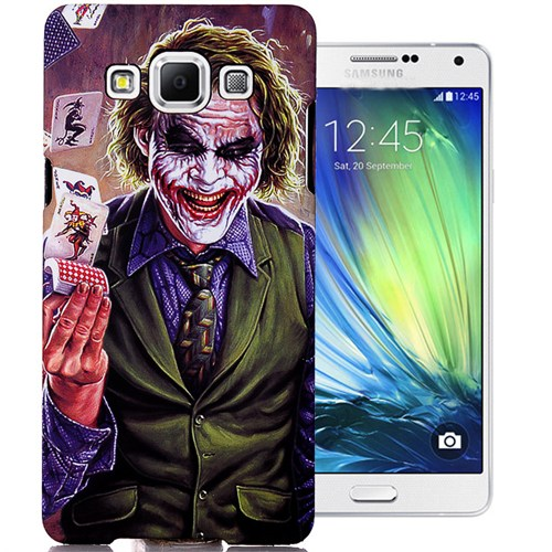 CoverZone Samsung Galaxy E5 Kılıf Resimli Kapak Joker