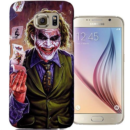 CoverZone Samsung Galaxy S6 Kılıf Resimli Kapak Joker