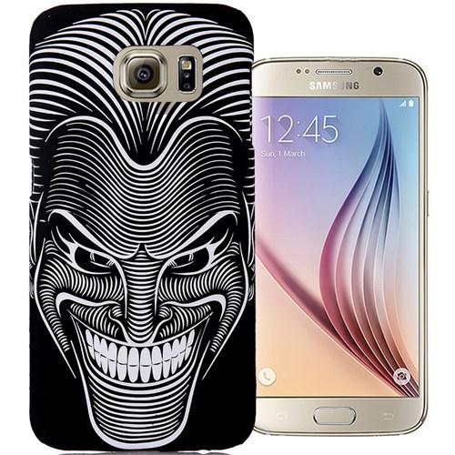 CoverZone Samsung Galaxy S6 Kılıf Resimli Kapak Maske
