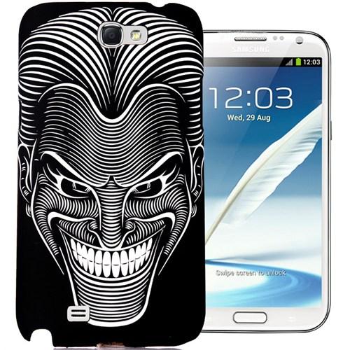 CoverZone Samsung Galaxy Note 2 Kılıf Resimli Kapak Maske