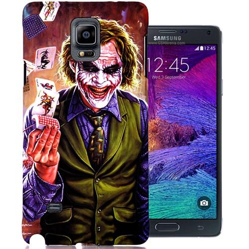 CoverZone Samsung Galaxy Note 4 Kılıf Resimli Kapak Joker