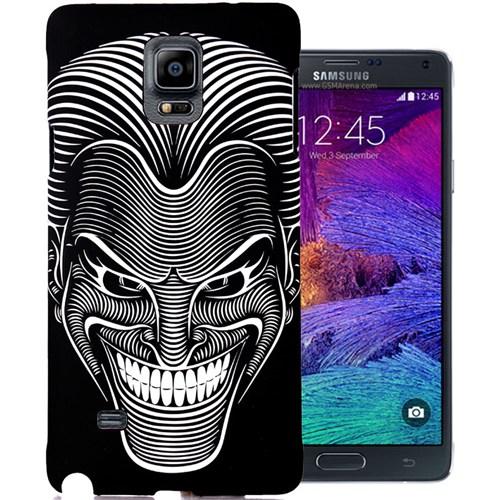 CoverZone Samsung Galaxy Note 4 Kılıf Resimli Kapak Maske