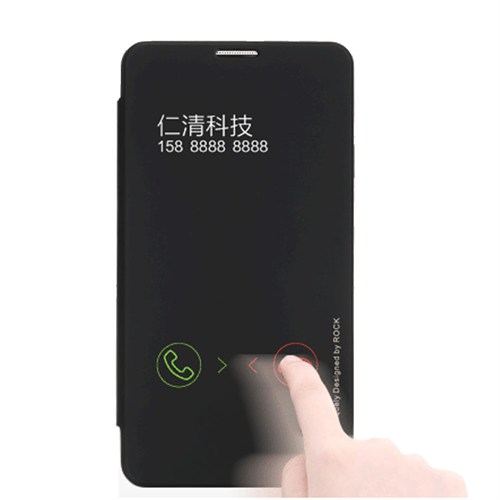 Markaawm Samsung Galaxy Note 3 Kılıf Flip Cover Rock