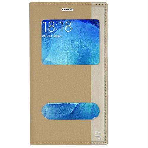 Markaawm Samsung Galaxy J7 Kılıf Gizli Mıknatıslı