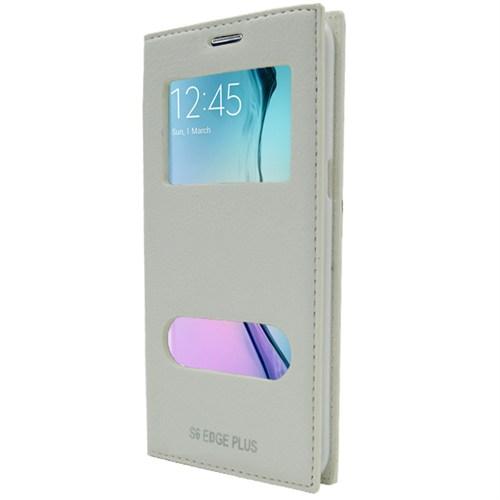 Markaawm Samsung Galaxy S6 Edge Plus Kılıf Gizli Mıknatıs