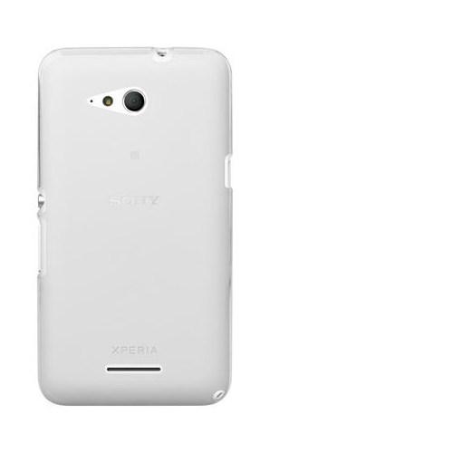 Markaawm Sony Xperia E4g Kılıf Silikon 0.3Mm Transparan