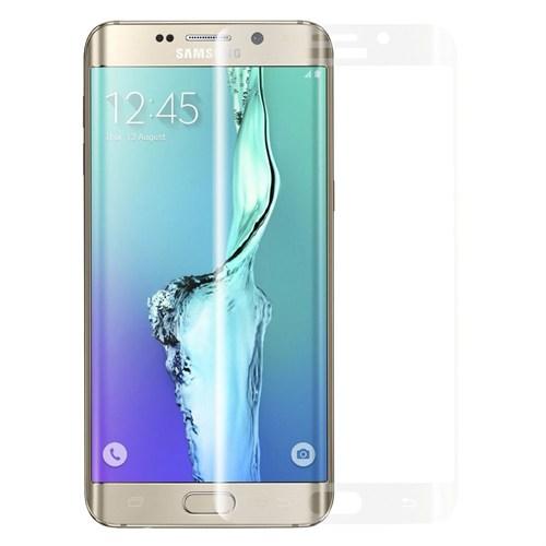 Markaawm Samsung Galaxy S6 Edge Kırılmaz Cam Kavisli Oval