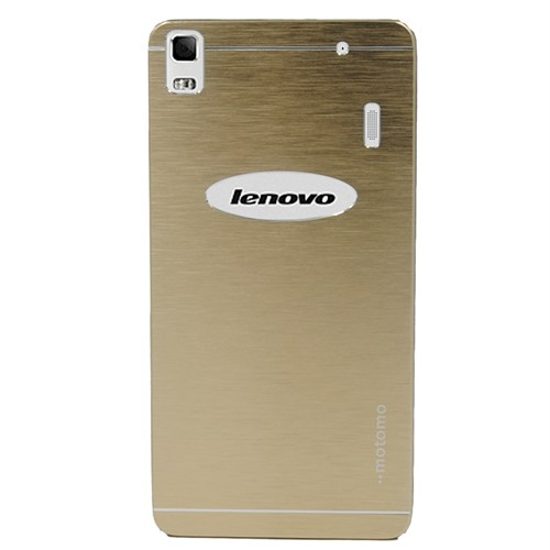 Markaawm Lenovo A7000 Kılıf Motomo Metal Kapak