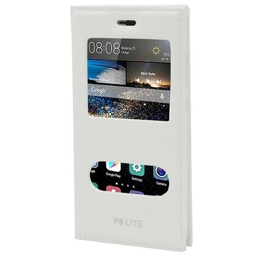 Markaawm Huawei P8 Lite Kılıf Magnum Gizli Mıknatıslı