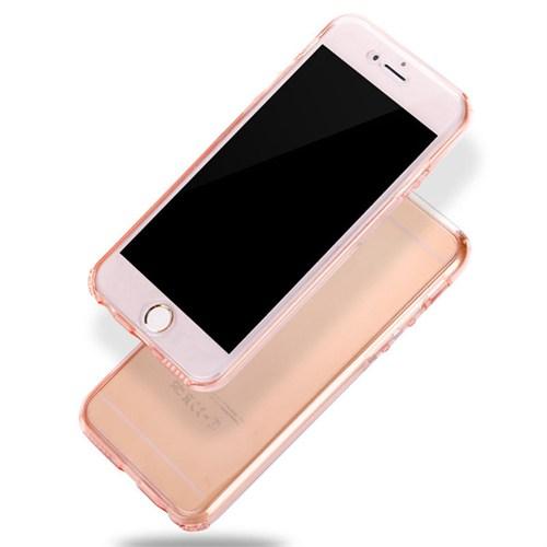 Markaawm Apple iPhone 6 Plus Kılıf 360 Derece Silikon Koruma