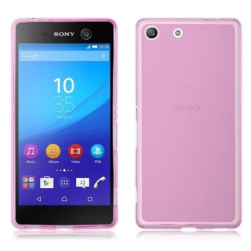 Markaawm Sony Xperia M5 Kılıf 0.3Mm Transparan Silikon
