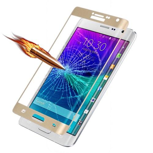 Markaawm Samsung Galaxy Note Edge Kırılmaz Cam Kavisli