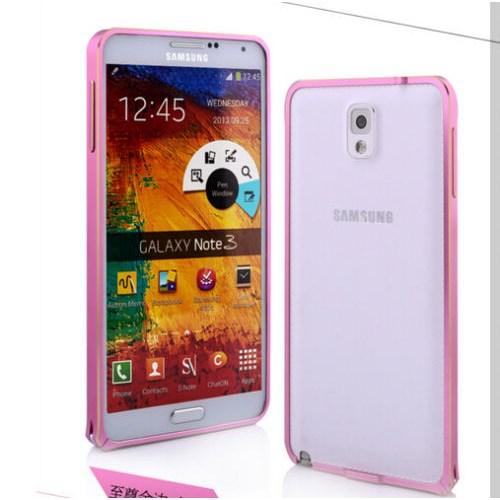 Markaawm Samsung Galaxy Note 3 Kılıf Metal Bumper Çerçeve