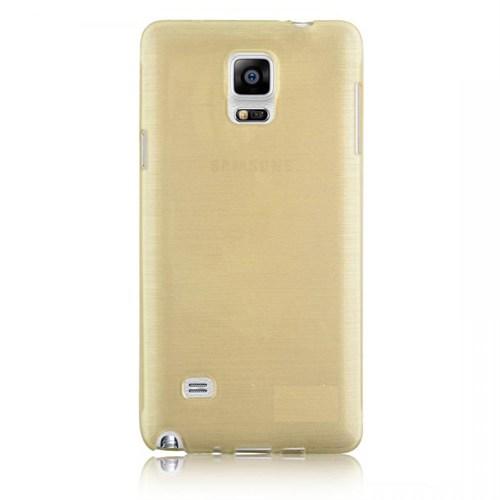 Markaawm Samsung Galaxy Note Edge Kılıf 0.3M Transparan Silikon