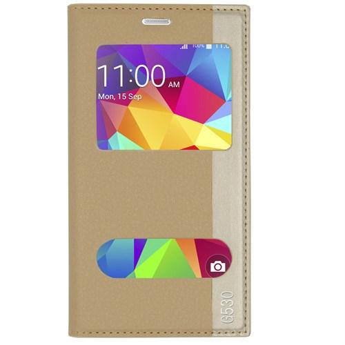 Markaawm Samsung Galaxy Grand Prime Kılıf Gizli Mıknatıs