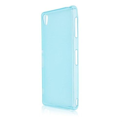 Markaawm Sony Xperia Z3 Kılıf 0.3Mm Transparan Silikon