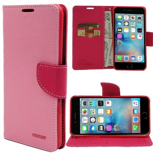 Markaawm Apple iPhone 6 Plus Kılıf 5.5 Mercury Cüzdanlı Standlı