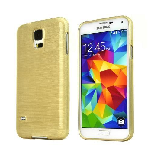 Markaawm Samsung Galaxy S5 Mini Kılıf Kapak 0.3Mm Transparan Silikon