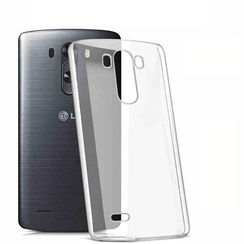 Markaawm Lg G3 Kılıf Esnek 0.3Mm Transparan Silikon