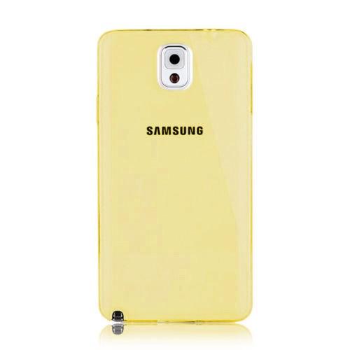 Markaawm Samsung Galaxy Note 4 Kılıf 0.3Mm Transparan Silikon